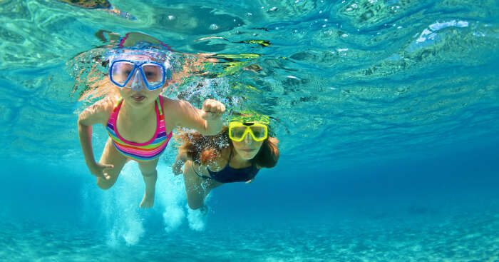 Snorkeling and Diving in Mauritius